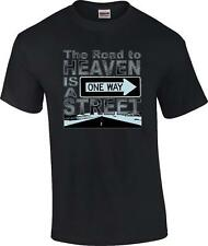 Christian The Road To Heaven Is A One Way Street Religious T-Shirt