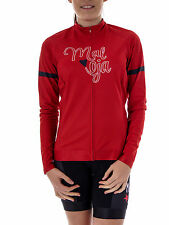 Maloja Cycling Jersey Radshirt Bike Shirt TalinaM. 1/1 sunset red Lycra