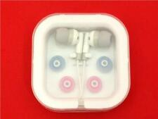 Lightweight Portable Earphones Ipod Touch Nano iphone MP3 White Black Pink Blue