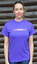 Vintage Lilac Starlet Bike T Shirt Retro Antique Schwinn Ladies Cruiser Bicycle