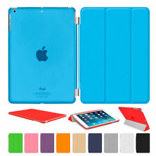 for Apple iPad Mini 1 2 3 Slim Magnetic Leather Smart Covers + Stand Hard Cases