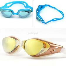 Trendy UV Protection Anti Fog Adult Adjustable Swimming Swim Goggles Glasses Pro