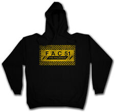 FAC 51 THE HACIENDA Hoodie Joy Club New Division Order Sweat Hoodie