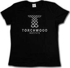 VINTAGE TORCHWOOD INSTITUTE LOGO T-Shirt - SciFi TV Series Doctor Who T-Shirt