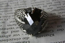 DRAGON CLAWS ZIRCONIA GOHTIC RING 925 SILVER SILVER RING 298