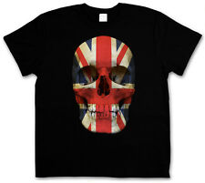 T-Shirt UNION JACK UK Skull FLAG - Skull England S M L XL XXL XXXL T-Shirt