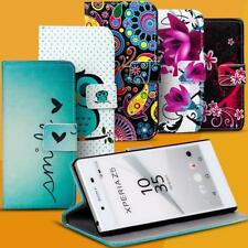 Motif bag for Sony Xperia Flip Case Protective Cover Mobile Phone Wallet