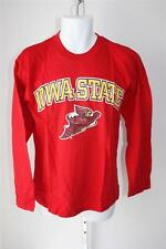 NEW Iowa State Cyclones Adult Mens Sizes M-L-XL Red Long Sleeve Shirt