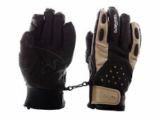 Level Gloves Winter gloves Rocker black real leather