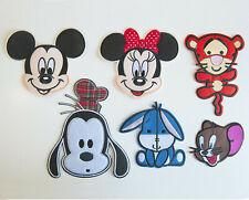 Cute Machine Embroidery Sew Iron On Applique Patch Cartoon Characters Large C
