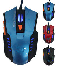 6D Gaming Mouse USB Optical Scroll Wired Mouse Mice for Laptop Desktop Computer