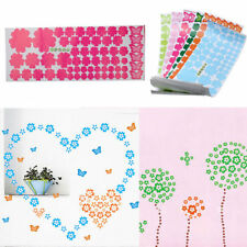 Creative 108PC Flower Wall Art Decal Sticker Removable Mural Home Decor Stylish