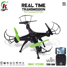 WiFi FPV 2.4Ghz 4CH RC Quadcopter Drone UAV 2MP HD Camera Airplane Helicopter