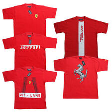 Ferrari Men's T-Shirt Scuderia Formula 1 Team F1 Men Red Shirt Top