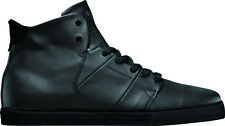 Globe High Sneaker Lace up Los Angered black leather Rubber sole