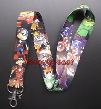 wholesale Captain America Mobile Cell Phone Lanyard Neck Straps Party Gifts C-88