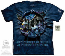 The Mountain Oht Eagle Inner Spirit Defend Freedom Support Troops T Shirt S-5Xl