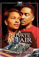 A Private Affair DVD Vanessa Bell Calloway, Clifton Powell NEW