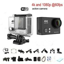 "H2 2.0"" LCD Ultra 4K HD 1080P WiFi Action DV Camcorder Waterproof Sports Camera"