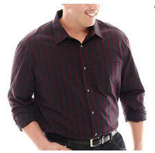 Claiborne Long-Sleeve Woven Shirt Big & Tall Size 5XL Msrp $60.00 New
