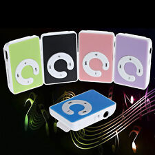 Mini Clip Mp3 Music Player USB Digital Support 32GB Micro TF SD Card + Earphone