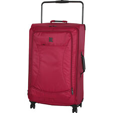 IT Luggage World's Lightest 32.9 inch 8 Wheel Spinner Large Rolling Luggage NEW