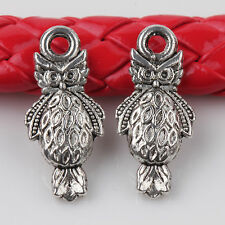 10/20Pcs Animal Style Carved Tibetan Silver Charms Pendants Crafts DIY 18*8mm