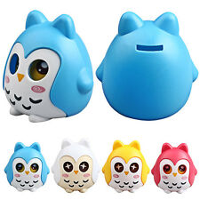 Cute Owl Shape Piggy Bank Coin Money Box Saving Pot Decoration Kids Gifts Nice