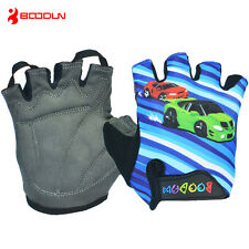 Sports Mountain Children Bicycle Bike Gloves Half Finger Cycling Gloves M/L