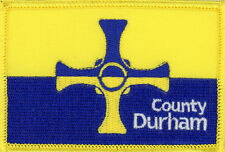 County Durham Embroidered Patch Badge