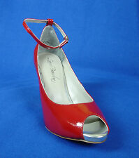 Laura-Brandon /Ankle Strap Sandal with Free Shipping