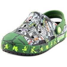 Crocs Crocs Bump It TMNT Clog   Round Toe Synthetic Green Clogs