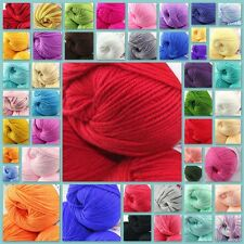 Sale 1 ball x50gr Cashmere Silk Velvet Baby Children Hand Knitting Yarn Colorful