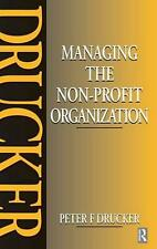NEW Managing the Non-profit Organization by Peter Drucker Hardcover Book (Englis