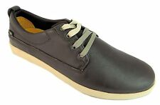 Caterpillar Beck Men's Lace Up Low Cut Leather Shoes With Changable Laces New