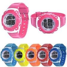 Children Girls Watches Digital LED Quartz Alarm Date Sports Digital Wrist Watch