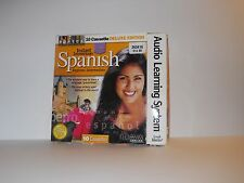 Instant Immersion Spanish beginner and intermediate 10 cassettes course