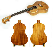 Alulu Thin Body Solid Hawaiian Koa Tenor Ukulele Koa Button Hard Case UKT287-288