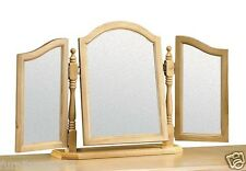 Solid Pine Cheval, Triple Or Dressing Table Mirrors .MINUET