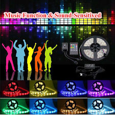 5-20M 3528/5050 RGB LED Light Strip SMD Tape Car Outdoor Wall LED Waterproof DIY