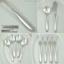 Dominion Chester Puritan 1915 Oneida Community Rex Antique Silverplate Flatware