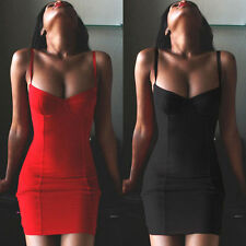 Sexy Women's Bandage Bodycon Dress Evening Cocktail Party Slim Night Club Wear