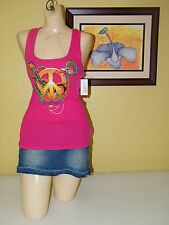 Shirt Medium Eckored Ecko Red Womens Pink tank Top New