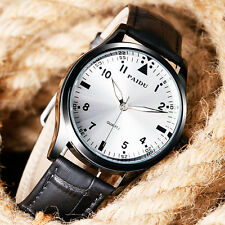 PAIDU Wrist Watch Black/Silver Dial Casual Analog Round Quartz Men Women