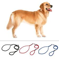 Adjustable Nylon Rope Pet Dog Cat Slip Training P-Leash Walking Leading Collar