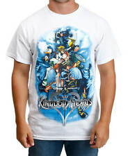 NWT Disney KINGDOM HEARTS GAME ON GROUP Sora Goofy Donald Mickey Men's Tee Shirt