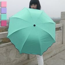 Women anti-UV super rainbow umbrella parasol umbrella KT0004 Medium Windproof