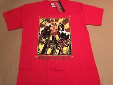 Transformers Robot Revolt T Shirt In Red New