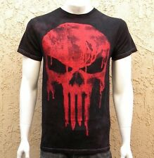 Punisher Seeing Red Washed Tee Marvel Licensed T-Shirt