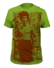 Bruce Lee - Han's Museum 1 Heather Green T-shirt - BRAND NEW - Official